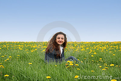 Happy in the meadow IV