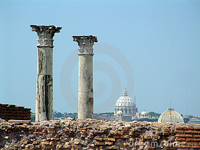 Palantine Pillars and Vatican