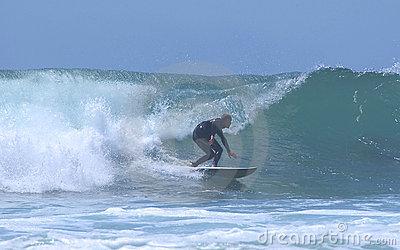 Silhouetted Surfer 2