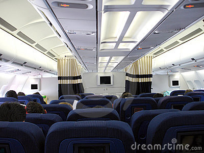 Airplain interior 2