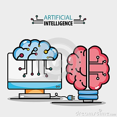 Brain circuits artificial intelligence and computer technology