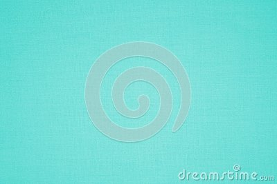 Turquoise colored canvas fabric texture