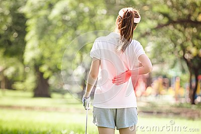 stock image of sport injury