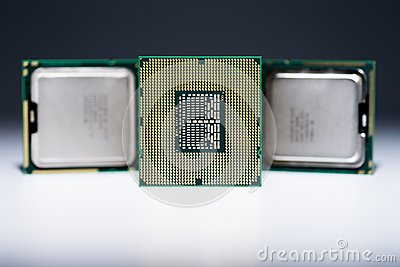 Bottom of CPU in detail