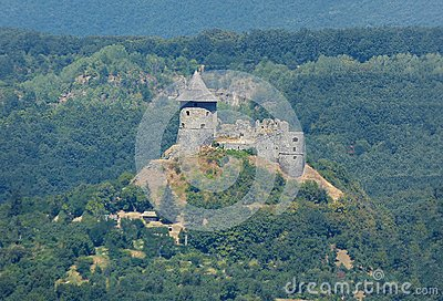 Fortress of Salgo in Hungary