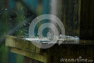 Rainwater, puddles that occur in the rainy season, version 4