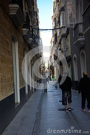 Cadiz Carnal. People in the street 9