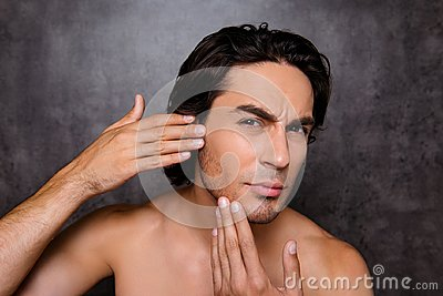 Perfection is a hard work even for men. Pampering, aging, acne,