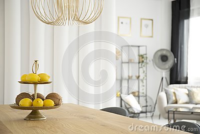 Citruses in dining room