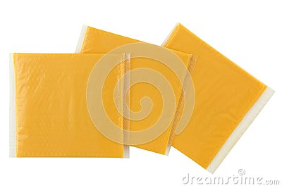 Sliced Smokey BBQ processed cheese, single slice wrapped in pack