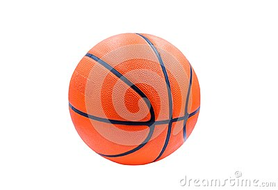 stock image of recreation leisure sports equipment with a basketball. isolated