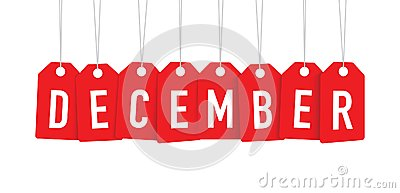 Red december tag