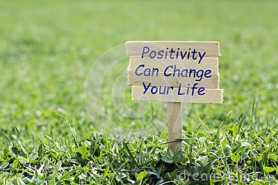 Positive can change your life