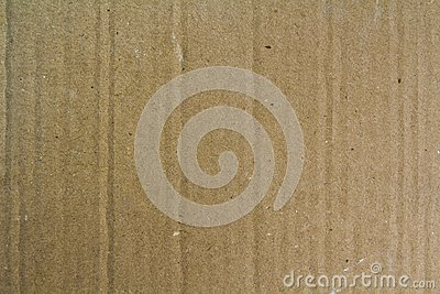 Close up old grainy decorative light brown vintage rough sheet of carton cardboard paper texture or background.