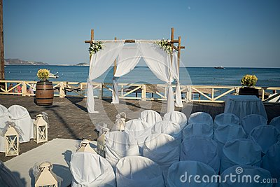 Stunning wedding stock photography from Greece! Beautiful Wedding Decoration for an exquisite wedding