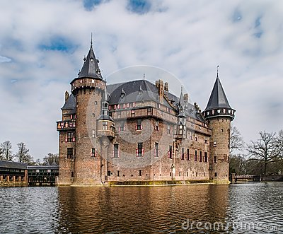ancient castle from the middle ages