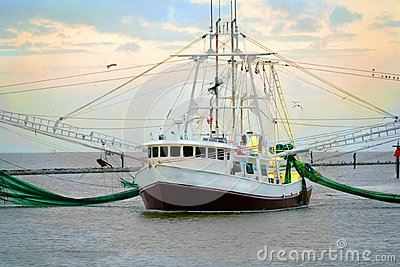 Louisiana Shrimp Boat