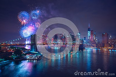 4th of July Fireworks in New-York