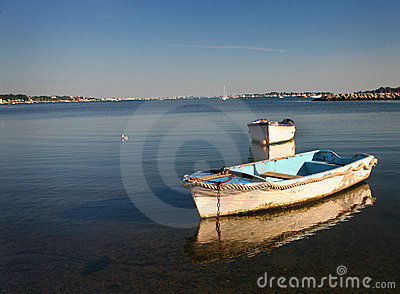 Row Boats - Poole Harbour