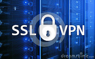 SSL VPN. Virtual private network. Encrypted connection