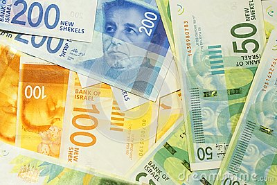 Israeli money notes