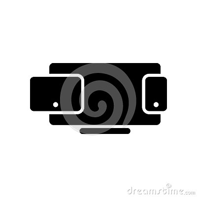 stock image of multimedia vector icon. illustration isolated for graphic and we