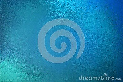 Beautiful blue green background illustration with textured vintage grunge deisng with light and dark teal blue colors and paint
