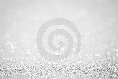 Lights on white silver background abstract beautiful blink light