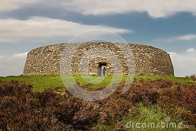 Grianan of Aileach or Greenan Fort. Inishowen. county Donegal. Ireland