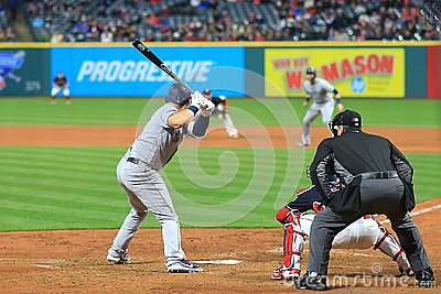 Cleveland Indians and the Seattle Mariners Major League Baseball game