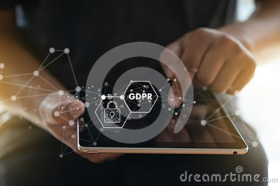 GDPR. Data Protection Regulation IT technologist Data Security s