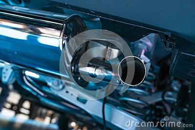 New car exhaust pipes
