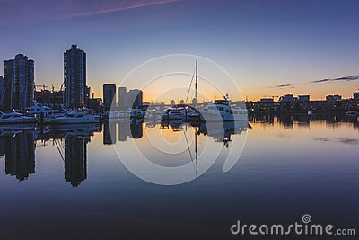 Quayside Marina at Sunrise