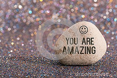 You are amazing on stone