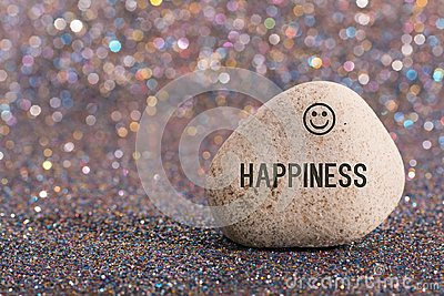 Happiness on stone