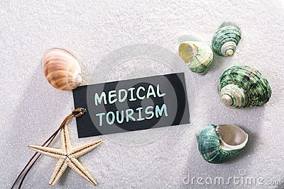 Label with medical tourism