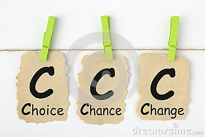 Choice Chance Change CCC