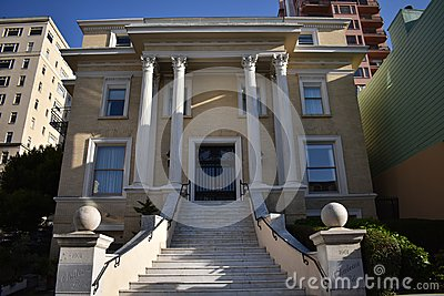 A house that Rothschilds built in San Francisco.