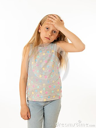 stock image of young, sad, unhappy, helpless tired girl suffering from depression. human emotions, bulling