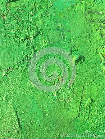 Organic matter summer background with green spring painting texture
