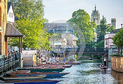 River punts and pubs
