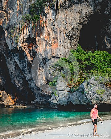 stock image of exotic tropical luxury adventure travel in thailand