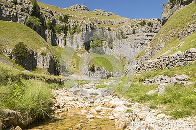 Gordale Scar, Yorkshire Dales National Park, North Yorkshire, UK