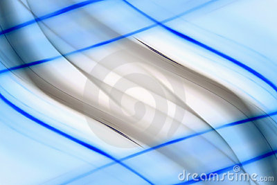 Blue lines abstract