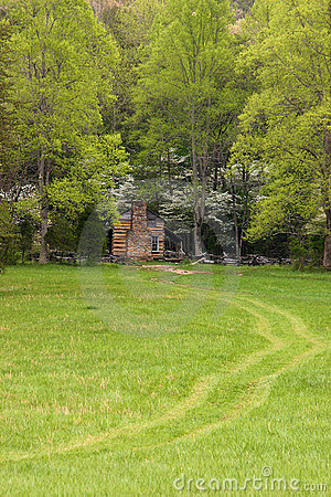 Path to John Oliver Cabin