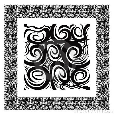 Pattern that matches from all edges, plus border