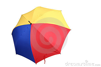Colourful umbrella 2
