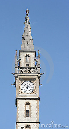Medieval clock tower