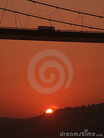 Bosporus Bridge Sunrise