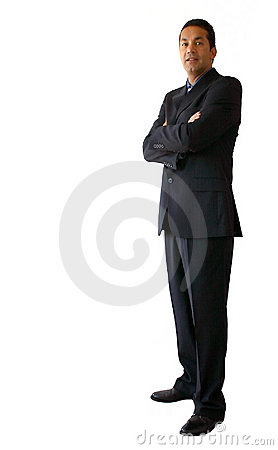Business man standing 2